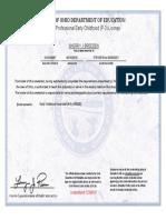 ohio teaching certificate 2016 - 2021