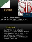 Usjb Protesis y Artrodesis
