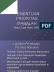 4 Penentuan Prioritas Masalah Promkes1