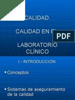 Calidad Laboratorio Clinico