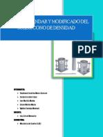 laboratorio ensayo proctor suelo y cono de densidad
