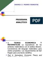 MICROECONOMIA II PRIMER TRIMESTRE 2006.ppt