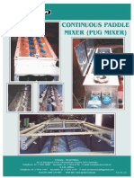 Continuous Paddle Mixer Form 1