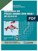 Geologia Da Folha Angra Dos Reis SF.23-Z-C-II