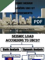Dr. Ayman Abd El-Hamid - Seismic Design UBC97