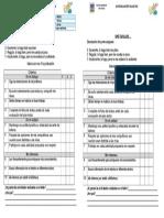 autoevaluacion CRA 3° y 4°