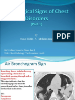 Radiological Chest Signs