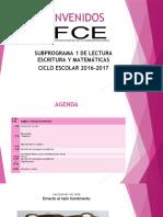 Agenda Alfabetización 1era