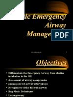 Basic Emergency Airway Management (ECCE-II 2013).ppt