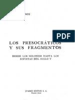 Llanos Alfredo - Los Presocraticos Y Sus Fragmentos.pdf
