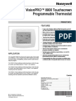 Honeywell T8000 Product Guide 68-0280