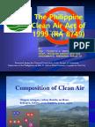 Clean Air Act- LGU Quezon, Bukidnon Presentation.ppt