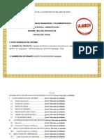 Informe Final Pps Administracion I-b Kender Quispe 2016-02