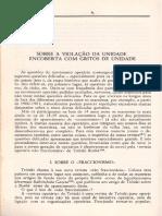 Lenin - Sobre a Violação Da Unidade Encoberta Com Gritos de Unidade (1914)