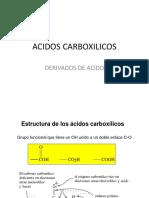 ACIDOS CARBOXILICOS2011