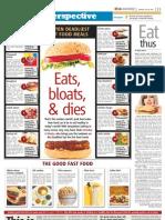 Ten Deadliest Junk Foods