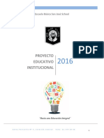 ProyectoEducativo San Jose School
