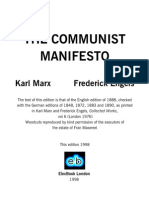 The Communist Manifesto- Karl Marx -
