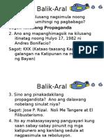 Jan 11 Hek Mga Hakbang sa Pagtatag ng Unang Republika.ppt