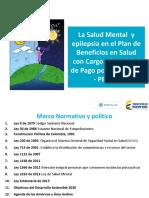 Ministerio de Salud y Proteccion Social. La salud mental en el Plan de Beneficios en Salud con Cargo a la UPC - PBSUPC.pdf