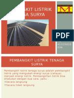 PPT Pembangkit Listrik Tenaga Surya