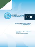 Diplomado en Salud Mental y APS. Modulo 5