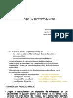 6.- Etapas Proyecto Minero