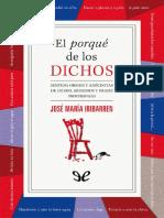 Iribarren Jose Maria - El Porque De Los Dichos.doc