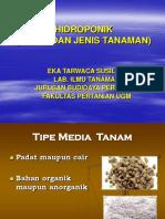 media dan jenis tanaman hidroponik.ppt