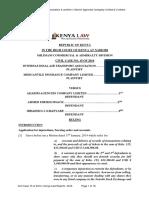 Civil Case 15 of 2014