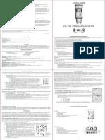 TDS Meter Manual