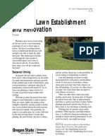 lawn establishment extension circular 1550