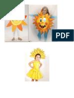 Disfraz Del Sol