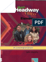 New Headway Video Elementary Student