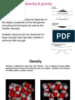 Isostasy 7 Density and Gravity