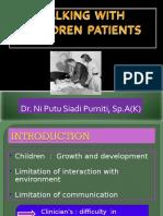 (Lecture 11) Komunikasi Dengan Pasien Anak Dan Remaja
