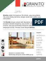 Homogeuneous Tile Granito