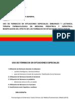 TEMA 4- Uso de Fármacos en Situaciones Especiales
