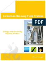 Condensate Recovery Pump Systems