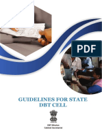 Guidelines for State DBT Cell