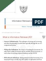 5a. Web IR - Basics, Models