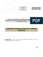 Rapport Evaluation CIDEAL VF