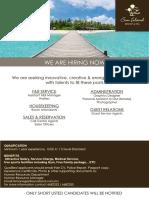 Job Opening - June
