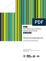 The Intercultural Innovation Award 2012_Application Guidelines_English