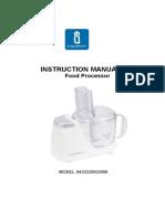 Aigostar 502058 5825 Manual
