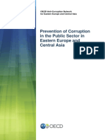 3. Prevention of Corruption in Public Sectors in Europe and Asia