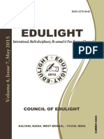 Edulight Volume - 4, Issue - 7, May 2015
