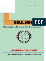 EDULIGHT Volume - 3, Issue - 5, May 2014