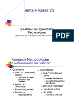 Methods Research