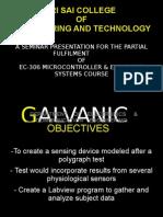 Galvanic Skin Resistance